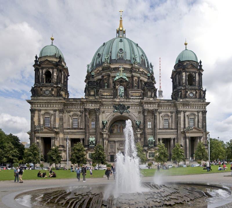 Os DOM de Berlim fotos de stock royalty free