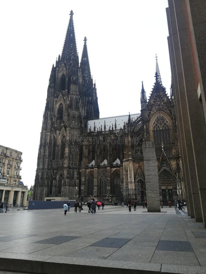 Os DOM de Der Kölner imagens de stock