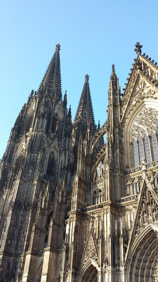 Os DOM de Kölner foto de stock