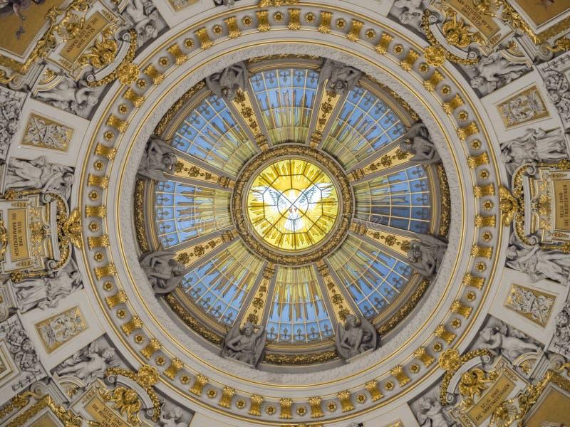 Os DOM do berlinês - catedral de Berlim, Alemanha foto de stock