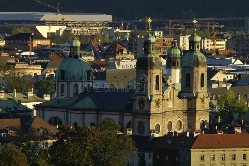 Os DOM em Innsbruck fotos de stock