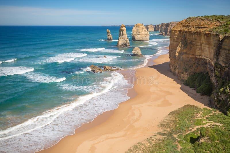 Os doze apóstolos, Austrália foto de stock royalty free