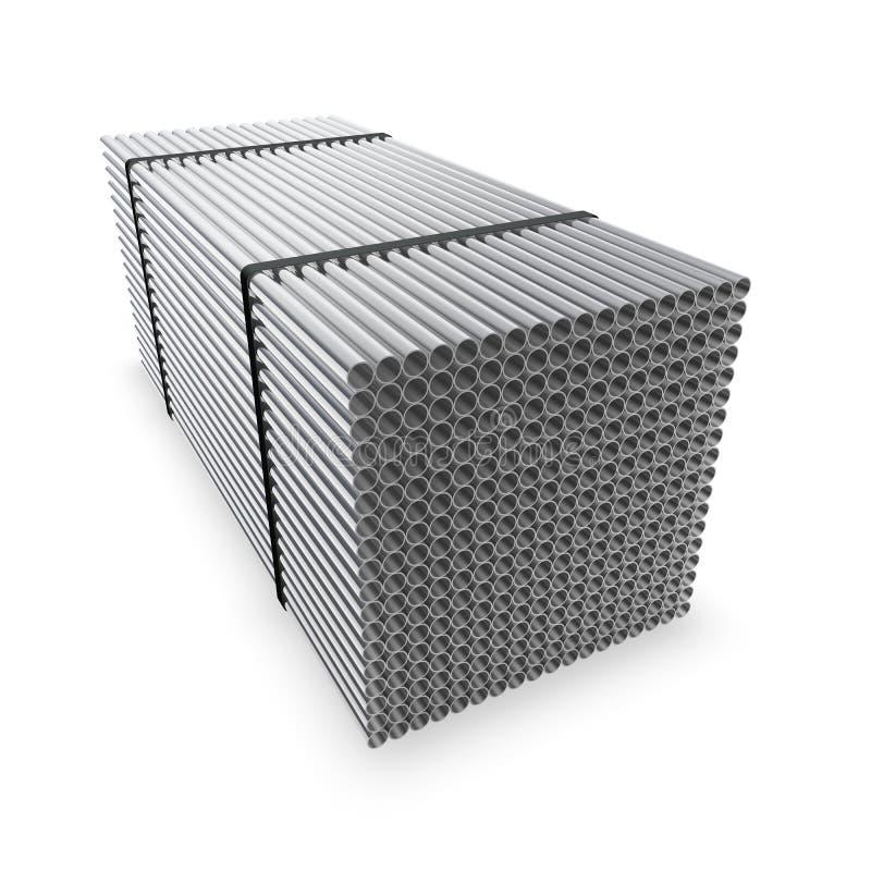 Os encanamentos resistentes à corrosão conectados ilustração stock