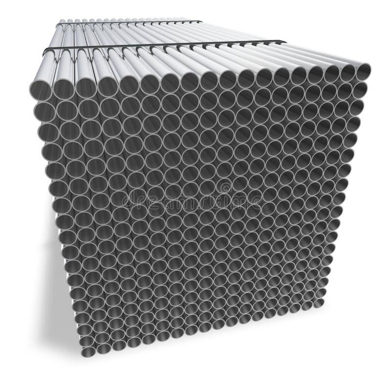 Os encanamentos resistentes à corrosão conectados ilustração royalty free