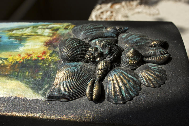 Os escudos do mar fotografia de stock royalty free