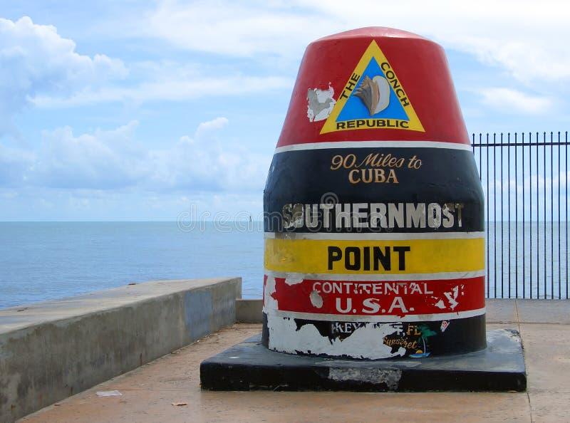 Os EUA os mais southernmost fotografia de stock royalty free