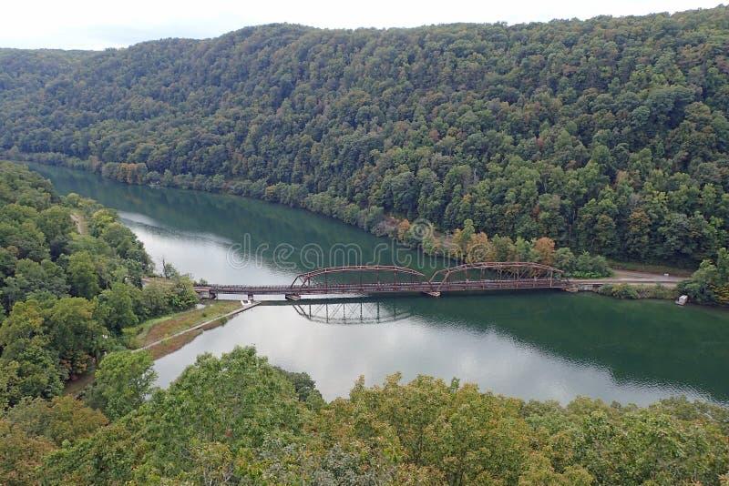 Os falcões aninham o parque estadual, West Virginia fotos de stock royalty free