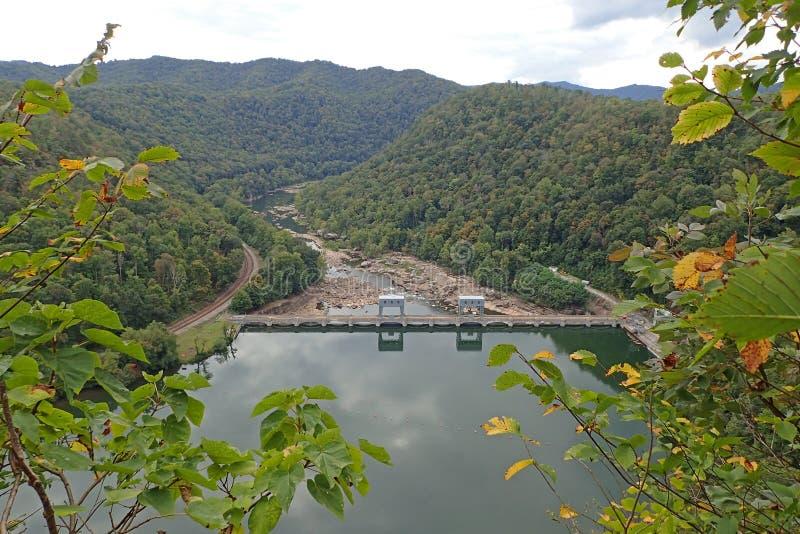 Os falcões aninham o parque estadual, West Virginia fotografia de stock