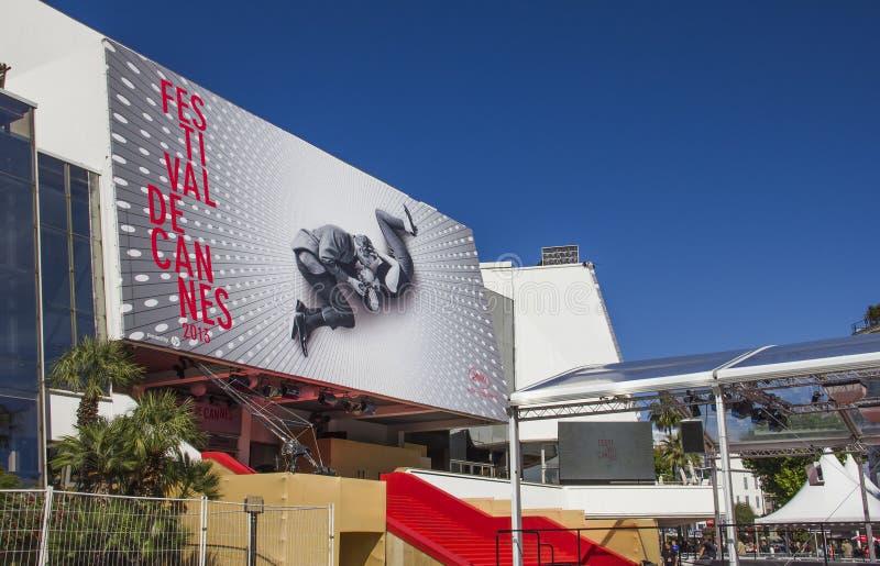 Os festivais do DES de Palais, Cannes foto de stock