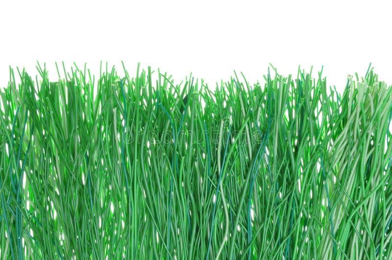 Download Fios verdes foto de stock. Imagem de closeup, ligação - 29832332