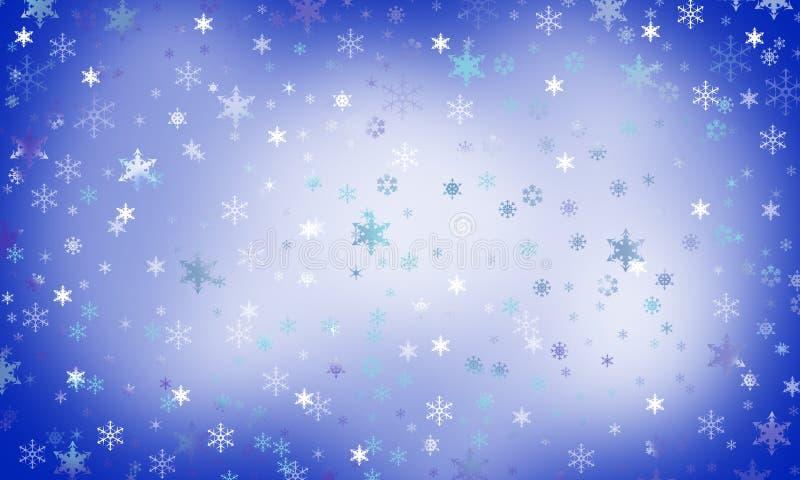 Os flocos de neve são milagre foto de stock