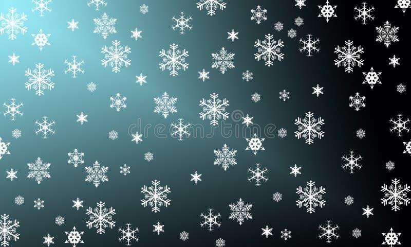 Os flocos de neve são milagre imagem de stock royalty free