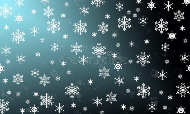 Os flocos de neve são milagre fotografia de stock royalty free