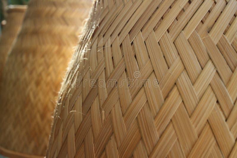 Os fogões de arroz fizeram da madeira fotografia de stock