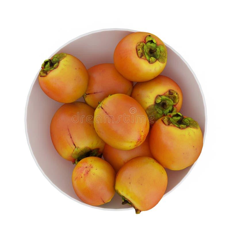 Os frutos isométricos 3D rendem foto de stock