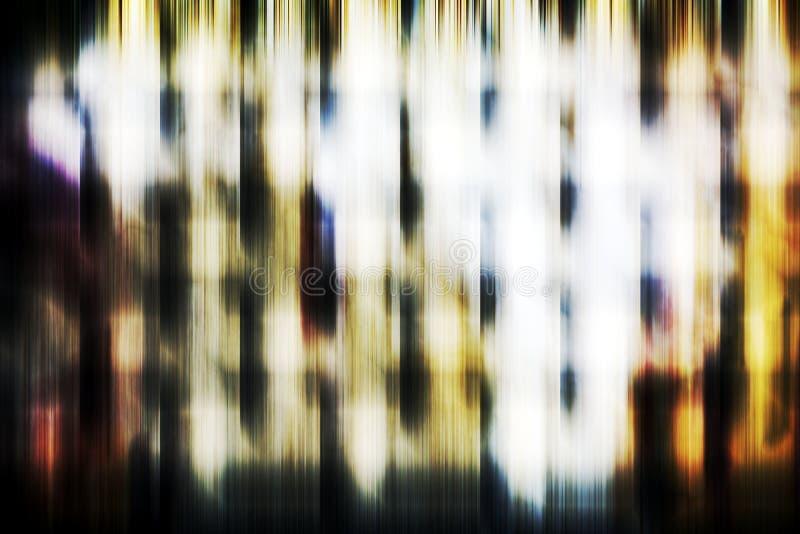 Os gráficos, luzes brancas escuras, abstraem o fundo dado forma foto de stock