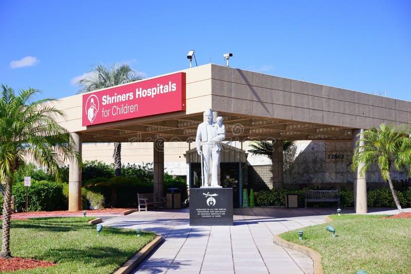 Os hospitais de Shriners para crianças fotografia de stock royalty free
