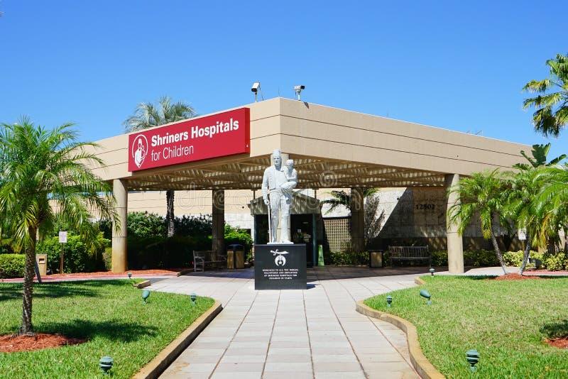Os hospitais de Shriners para crianças imagens de stock