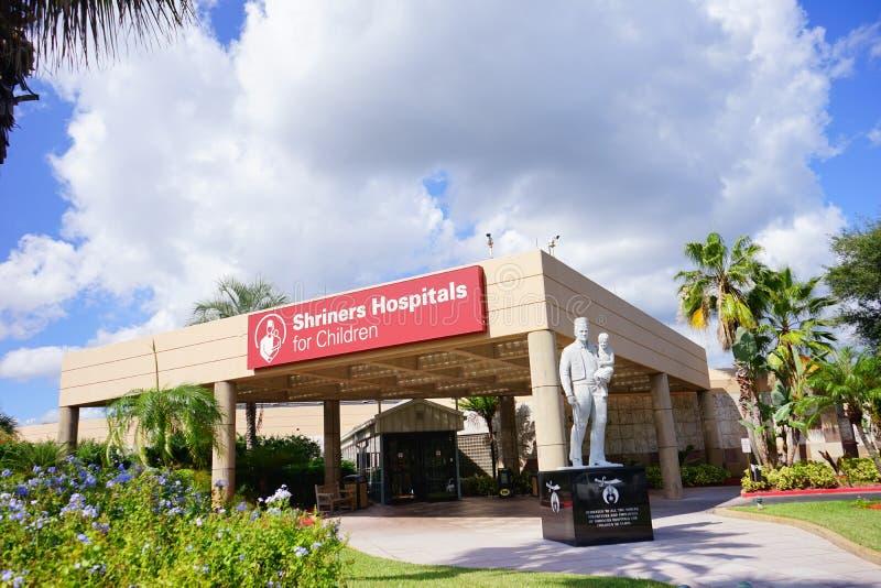 Os hospitais de Shriners para crianças imagens de stock royalty free