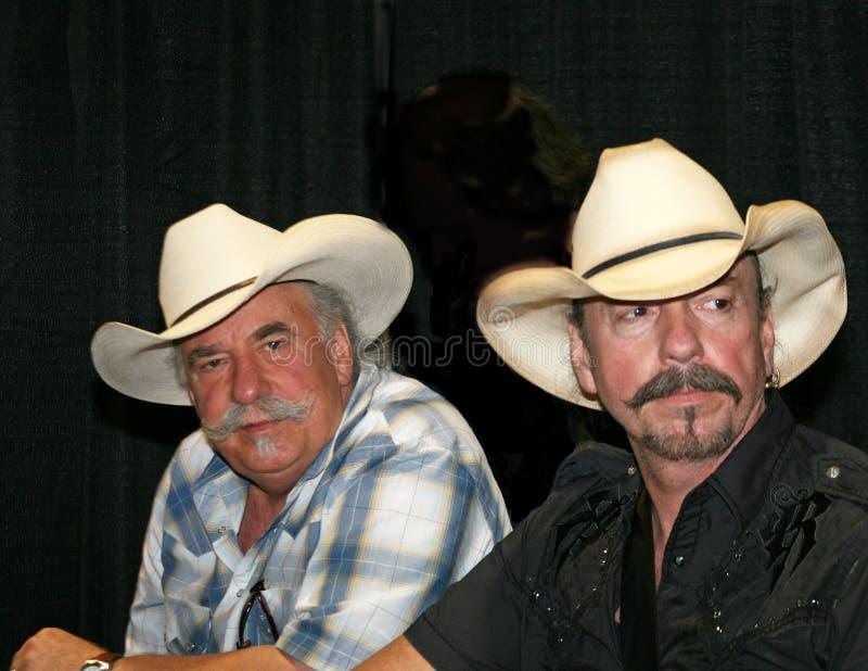 Os irmãos de Bellamy - festival de música 2009 de CMA imagens de stock