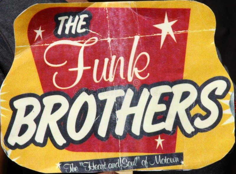 Ventilador do irmão do funk foto de stock royalty free