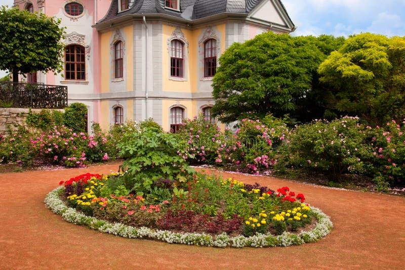 Os jardins de Dornburg imagens de stock royalty free