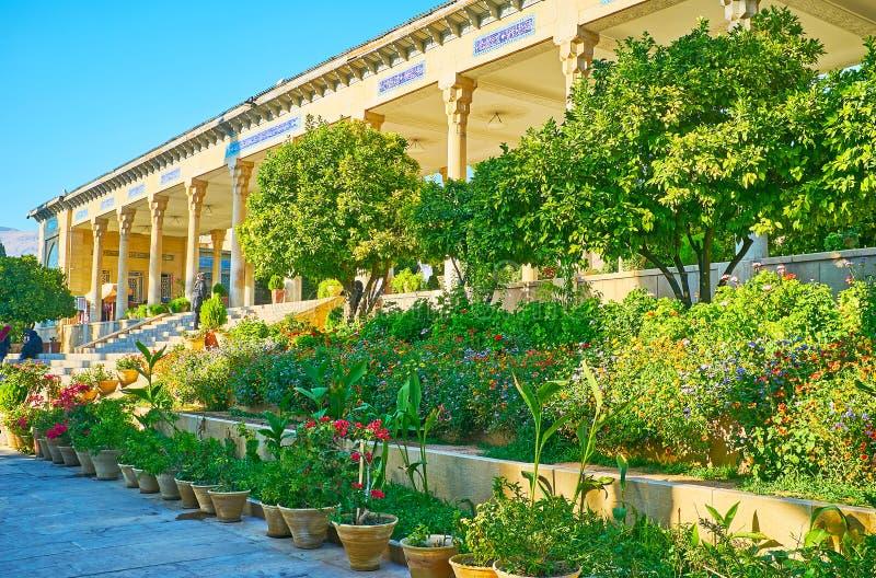 Os jardins persas de Shiraz, Irã imagem de stock royalty free