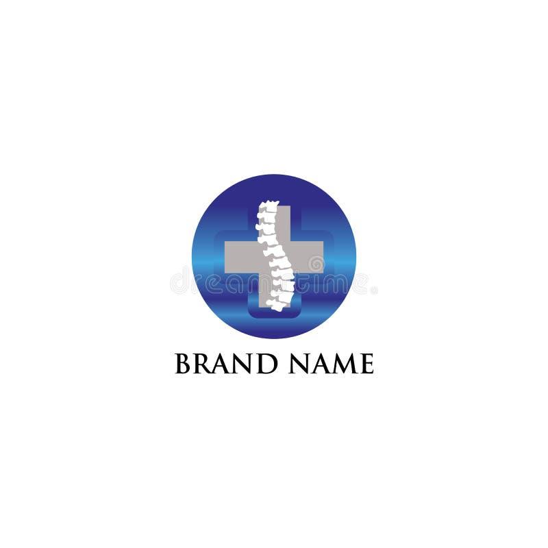 Os médical de logo moderne image stock