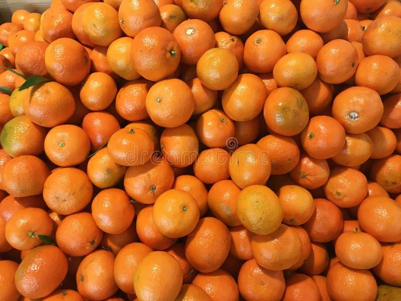 Os mandarino frescos fotos de stock