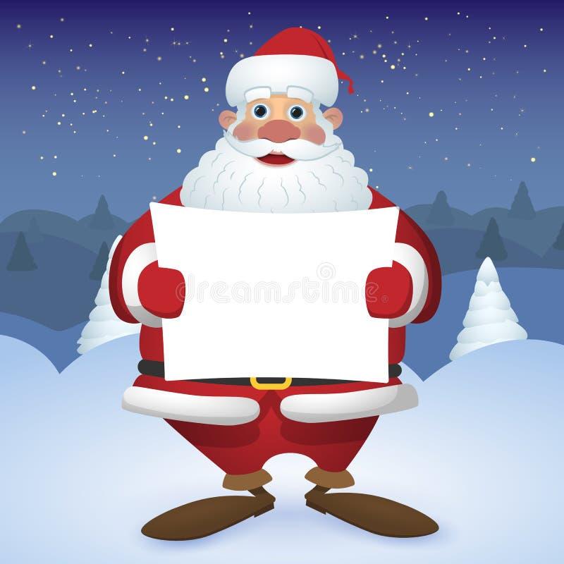 Os melhores desenhos animados Santa Claus ilustração stock