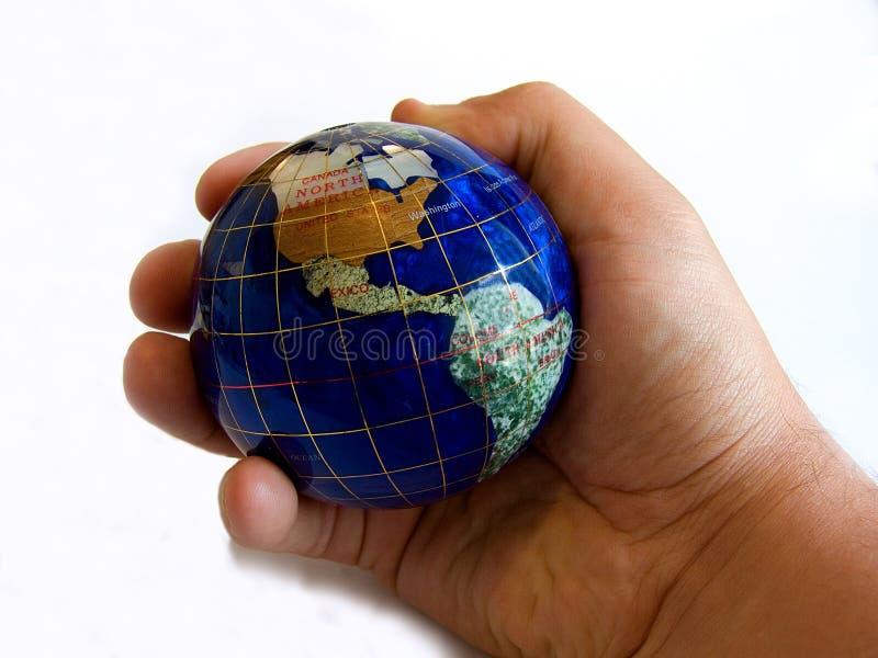Os mundos um lugar pequeno fotografia de stock royalty free