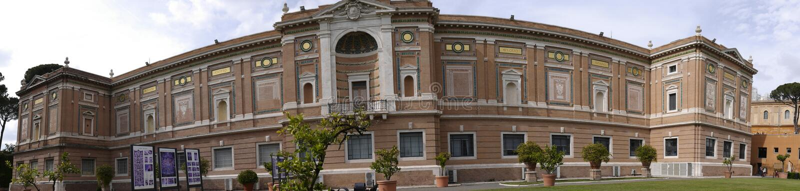 Os museus do Vaticano em Roma Itália imagem de stock royalty free