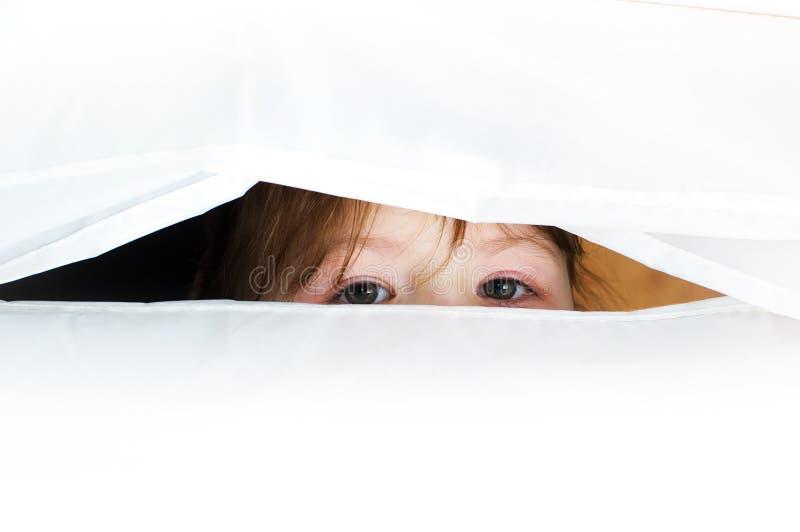 Os olhos são um espelho da alma. fotos de stock