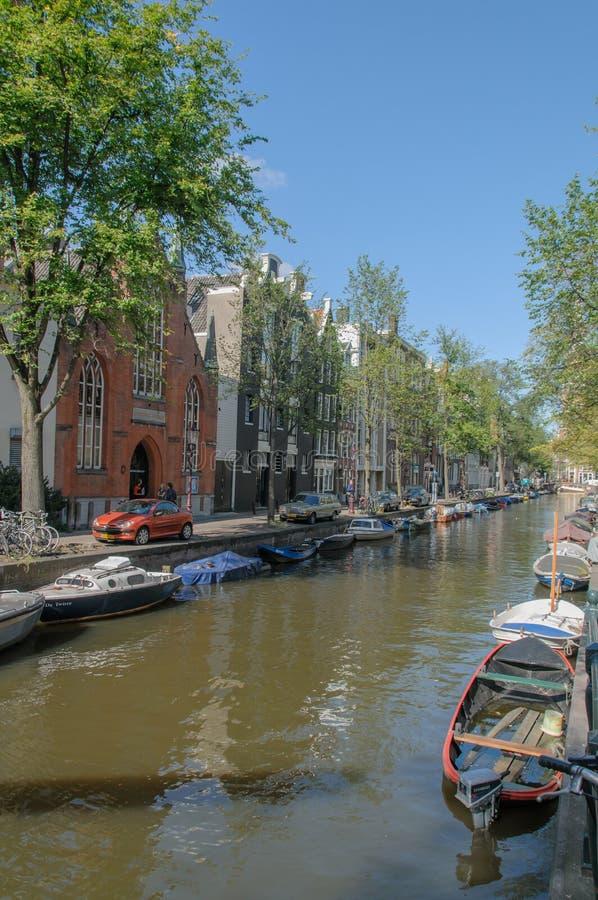 Os Países Baixos - a Amsterdão fotografia de stock