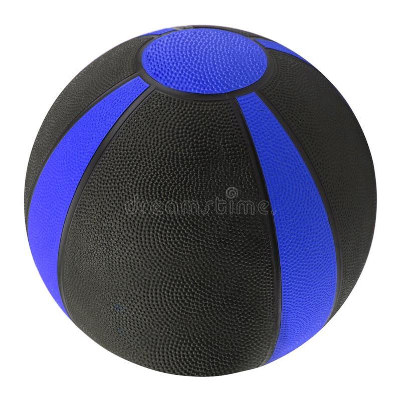 Os pacientes da bola de medicina no hospital precisam esta bola de reconstruir lá os músculos dos órgãos fotografia de stock