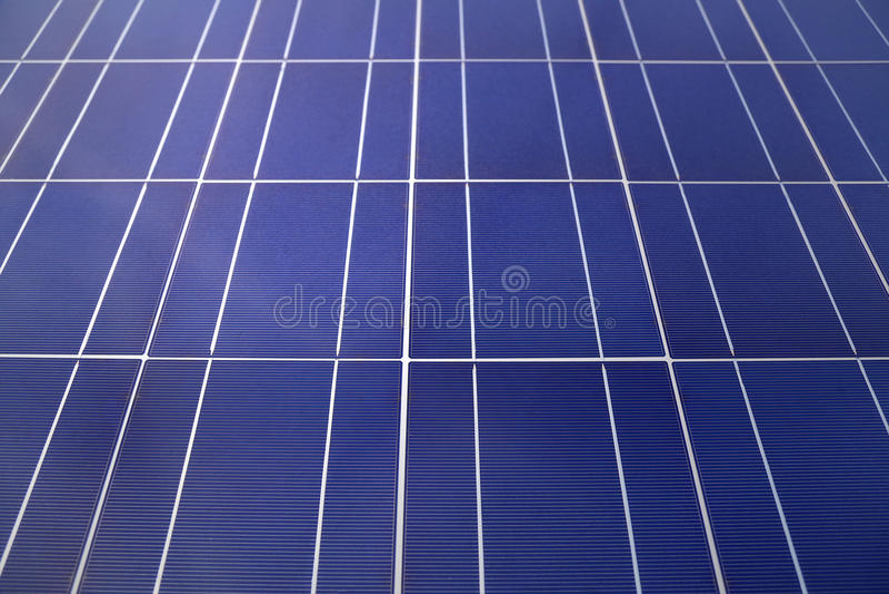 Os painéis solares fecham-se acima fotos de stock royalty free