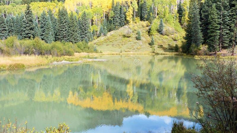 Os pináculos coloridos sentam-se grandemente acima do deserto pintado fotografia de stock royalty free