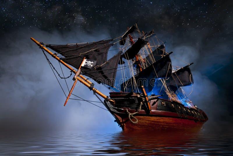 Os piratas dos 04 do Cararibe fotos de stock