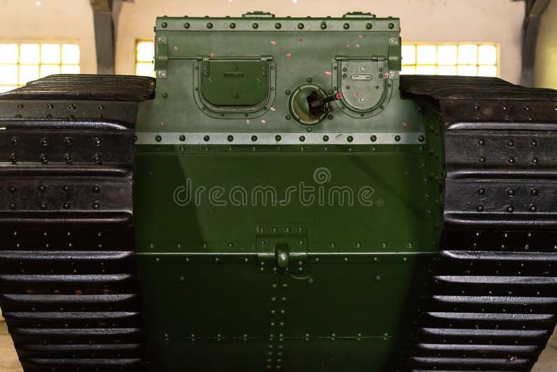 Os primeiros tanques imagens de stock royalty free