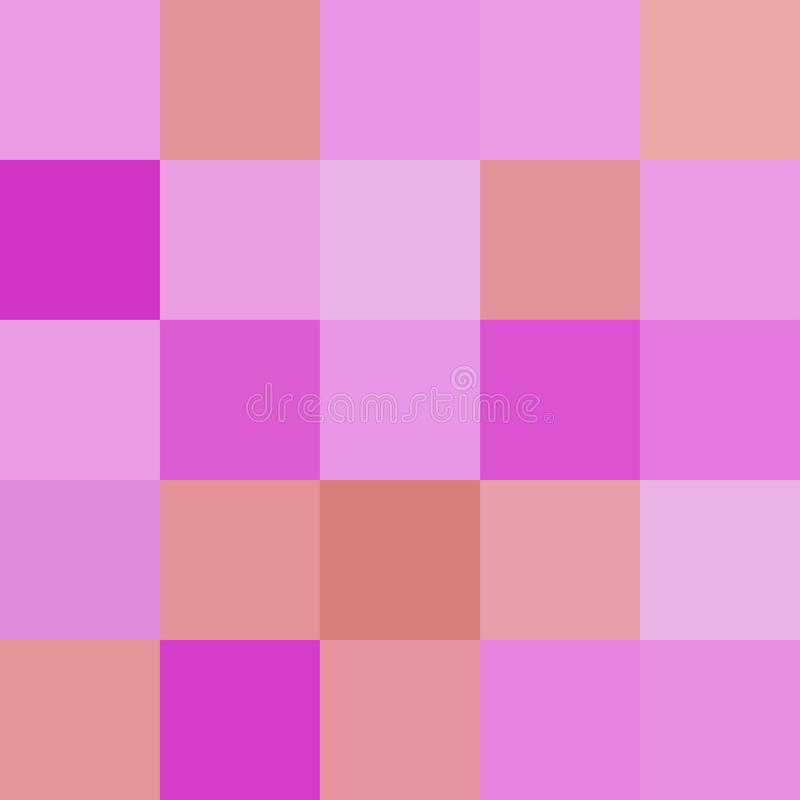 Os quadrados coloridos colorem o marrom roxo, brilhante pastel macio do bloco ilustração royalty free