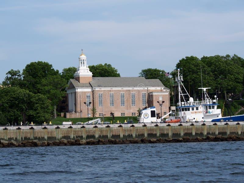 Os reis Ponto Comerciante Marine Academy foto de stock royalty free