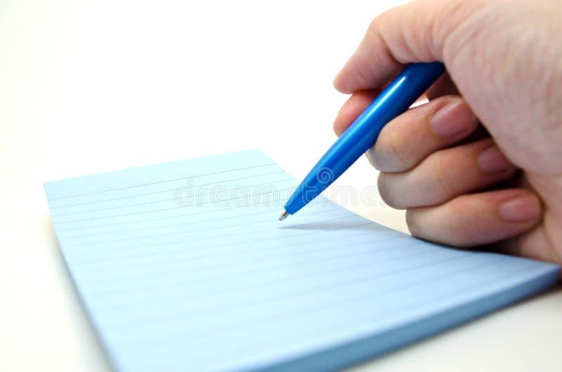 Download Escrevendo algo foto de stock. Imagem de holding, pena - 29845984