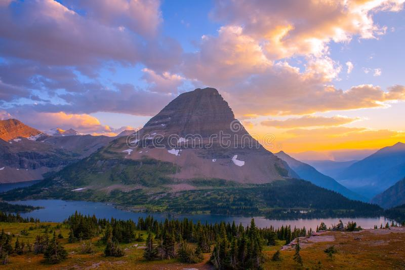 Os sonhos de Montana vêm verdadeiro fotografia de stock royalty free