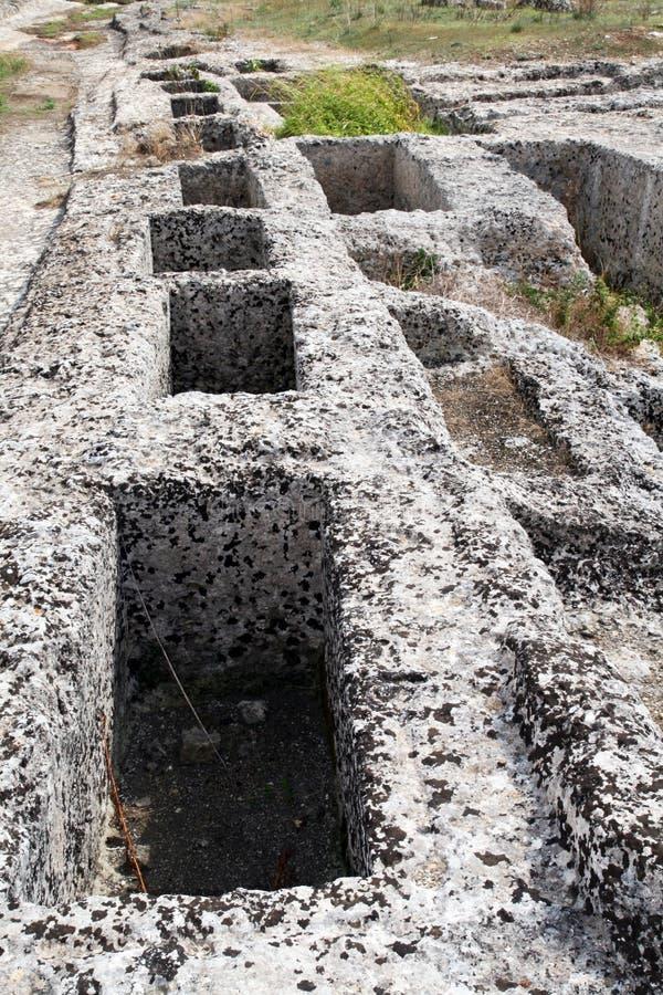 Download Túmulos de Messapiche foto de stock. Imagem de tourism - 29834320