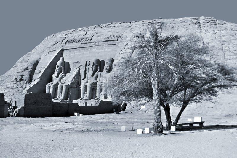 Os templos de Abu Simbel imagens de stock royalty free