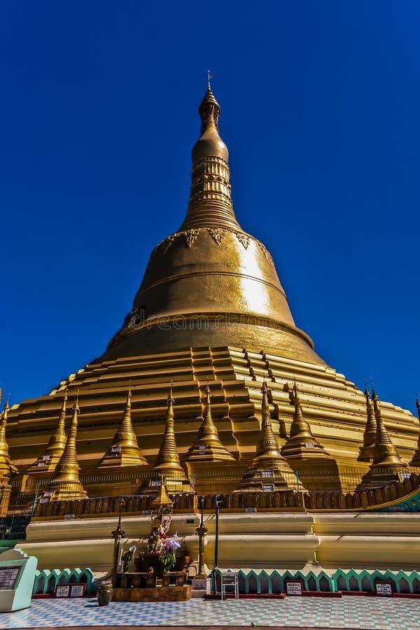 Os templos de bagan no nascer do sol, Bagan, Myanmar fotos de stock royalty free