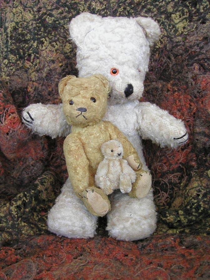 Os três ursos foto de stock