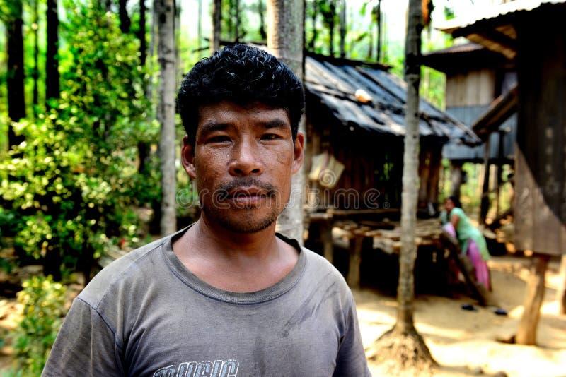 Os tribos os mais primitivos da Índia imagem de stock