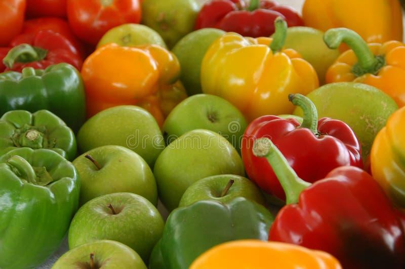 Os vegetais fecham-se acima em casa fotografia de stock royalty free