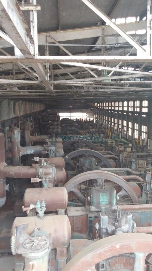 Os ventiladores de aço foto de stock